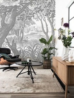 Mural Engraved Landscapes WP-631