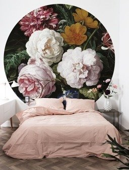 Mural XL Golden Age Flowers BC-012